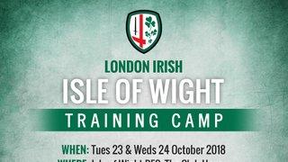 London Irish Training Camp