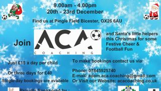 ACA Coaching's Christmas Camp