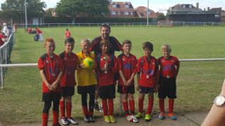 EBYFC u11 Whites - Seaford Town Tournament runners - up 2016