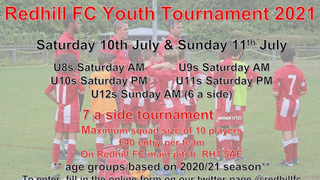Youth Tournament Coming Back To Redhill