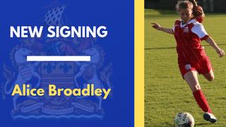 Broadley joins Town