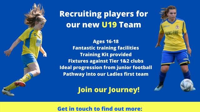 Club to launch new U19 Team