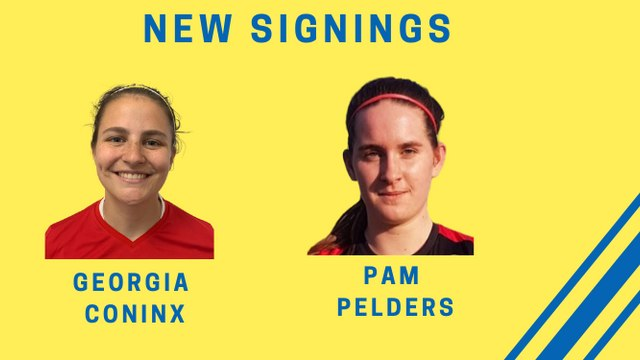 Ladies announce signings of defensive duo