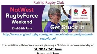 NatWest Rugby Force day at RRFC