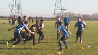 U16s take part in All Schools Programme Event at Today's Match - England vs Italy