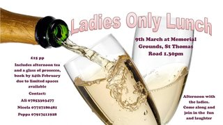 Ladies Only Lunch