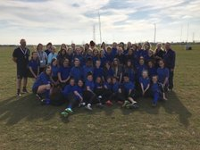 First Rugby Development Day for Girls held at Spalding's New Ground