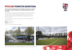 Pitch Side Perimeter Advertising