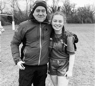 Historic day as Nina gets Irish call-up