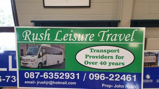 Rush Travel support Ballina RFC