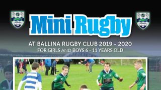 Mini Rugby back this Saturday