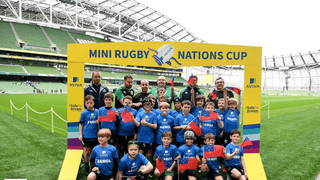 Our U10s enjoy a special day in The Aviva