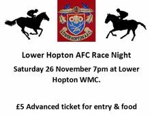 Lower Hopton Race Night