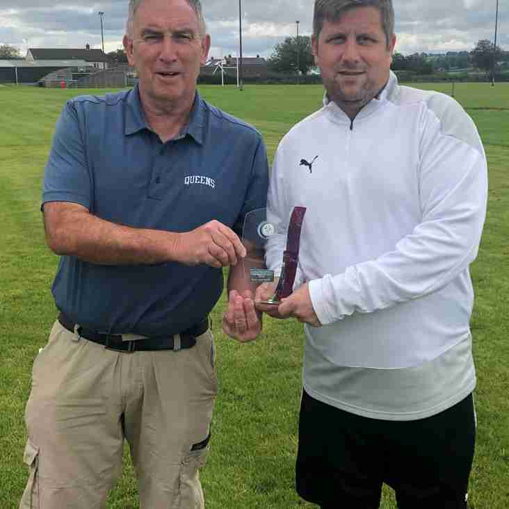 MANAGER OF THE MONTH  JULY/AUGUST
