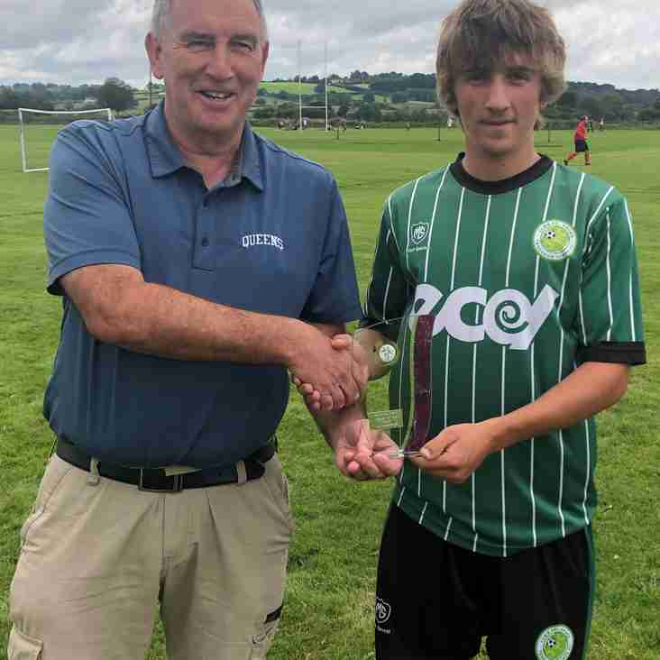 PLAYER OF THE MONTH WEST DIVISION JULY/AUGUST