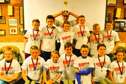 U12s end of season presentation and award winners