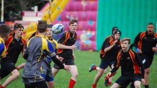U14s at Abergavenny Festival April 2017
