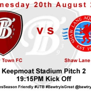 Bawtry Town FC	 3 vs 3 Shaw Lane Aqua Force Reserves