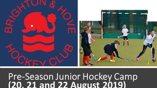 Pre Season Juniors Hockey Camp August (20, 21 & 22)