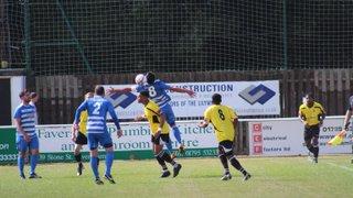 Faversham Town Vs Epsom & Ewell FC (FA Cup) 20.8.16