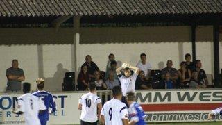 Faversham Town Vs Hythe Town (Ryman League Cup)  (13.9.16)
