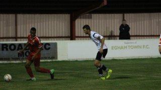 Egham Town FC Vs Faversham Town (FA Cup 3rd Qualifying Round Replay) 4.10.16