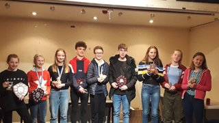 AHC's Junior Award Winners 2018/19
