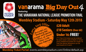 VANARAMA BIG DAY OUT 4: Early Bird tickets now on sale