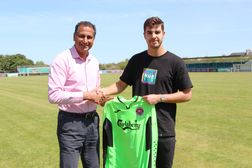 NEW SIGNING: Dan Stedman joins goalkeeping team