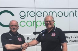 NEW SPONSOR: Greenmount Carpets joins the White Tigers