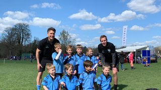 U7s have fun in the sun at their first Hampshire Festival