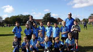 U9s have success at first tournament of the season