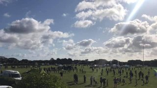 Beautiful day for New Milton festival with the Minis!