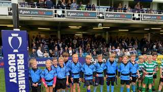 U8s travel to Bath for half-time success!