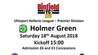 Binfield vs Holmer Green