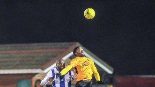 1st lose to Haywards Heath Town 3-4