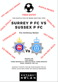 Surrey Police vs Sussex Police - 4th August