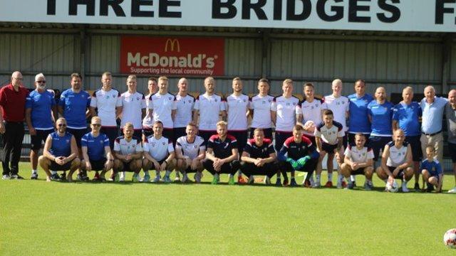 Icelandic champions visit TBFC