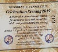 Celebration Evening: 28th September 2019