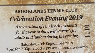 Celebration Evening: 28th September 2019