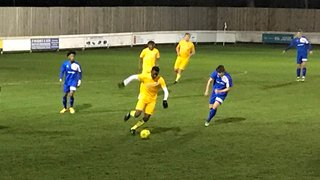 10-man Blues defeat Barking 3-1