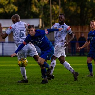 Bury Town and Romford fight out 2-2 draw in difficult conditions