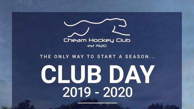 CLUB DAY 2019-2020