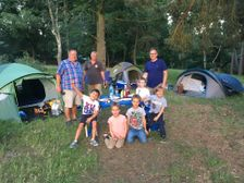 Mini and Youth Family Camping Trip