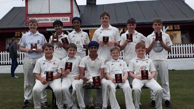 Lightcliffe U13s win the Heavy Woollen Cup Final
