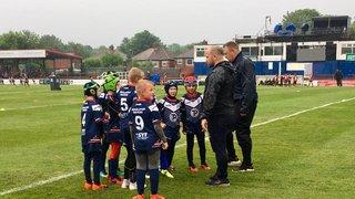 U8s pre match games Trinity v Rhinos 7th June 2019