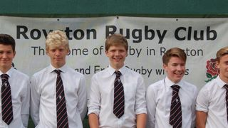 Five u14's have been selected for county teams