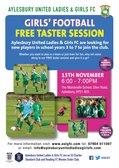 Free Girls' Football Taster Session
