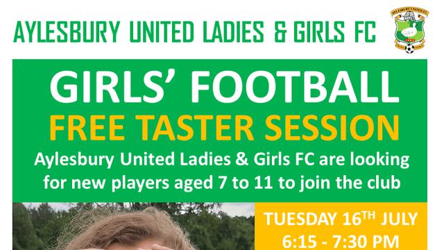 Girls' Football Taster Session July 2019