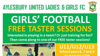 Free Girls' Football Taster Sessions